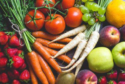 Los colores en la comida