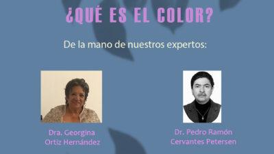 La física del color – Conversatorio
