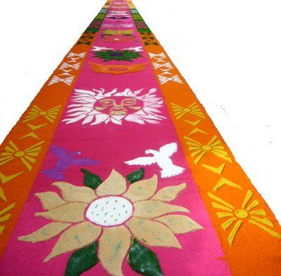 Los Tapetes de Flores y Aserrín. Arte Popular Efímero
